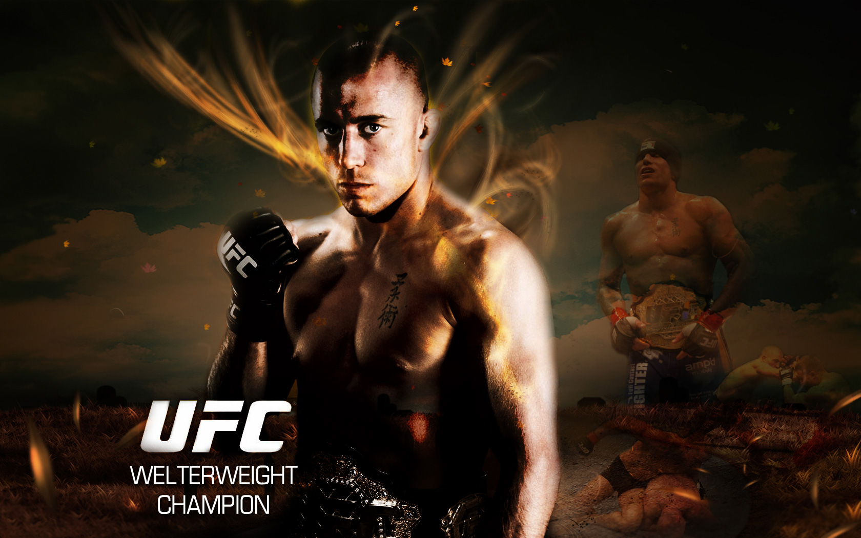 Anybody need a wallpaper page 2 outside the ufc ufc fight posted image voltagebd Gallery